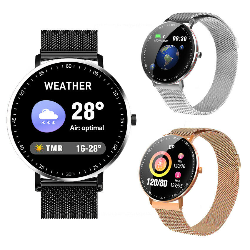 Circular screen Weather Smart Watch Heart Rate Full Touch Screen Forecast Music circular Featured forecast full heart rate screen smart touch watch weather