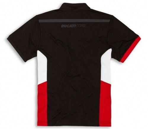 Ducati original Corse 19 red Polo-Shirt verano camiseta de manga corta