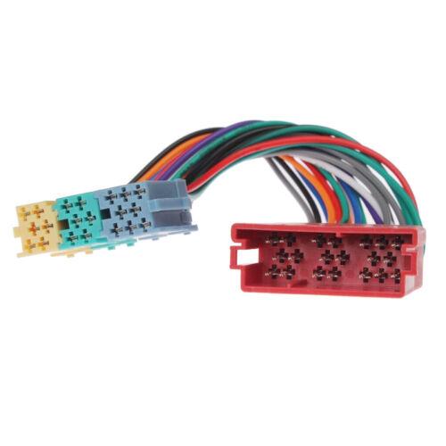 Auto Mini ISO Radio Adapter Stecker Erweiterung Wechsler Für VW Audi A2 A3 A4 TT