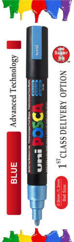 0.9mm-1.3mm //PC-5M Uni Posca marcadores de bola de 15 Colores Surtidos PC-3M 2.5mm