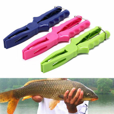 1PC Portable ABS Plastic Fishing Fish Lip Grip Gripper Fishing Pliers Body Clip