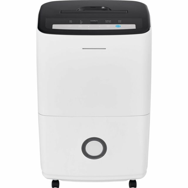 Frigidaire FFAP7033T1 70-Pint Dehumidifier with Built-in Pump in White New