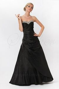 Beautiful Strapless Ball Gown Prom Dress Evening Gown Ed8828 Black
