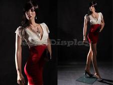 Fiberglass Female Manequin Mannequin Display Dress Form #MZ-LISA10+FREE WIG