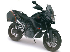 KTM 990 SM-T BLACK 1/12 MOTORCYCLE MODEL BY AUTOMAXX 601702BK