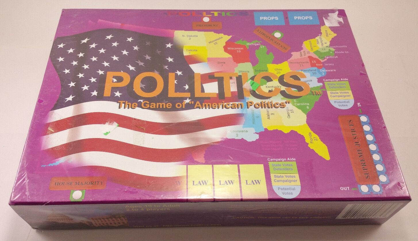Polltics - das spiel der amerikanischen politik brettspiel.kostenloser versand