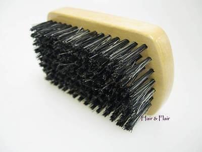 Men's Military Boar Bristle Hair & Beard Soft Bristle Grooming Brush