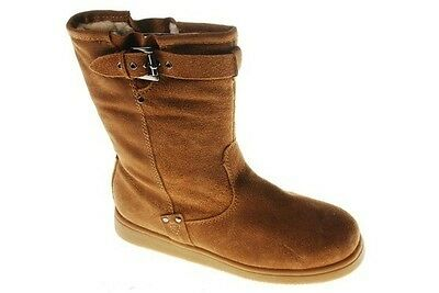 Marc Fisher Women's Earra Boot Brown Leather 10M