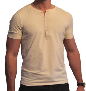 ddcec3ca1 Image is loading JURASSIC-WORLD-Grady-Vintage-Style-HENLEY-3-Button-