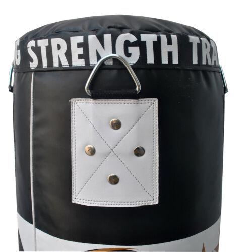 5ft riempito Appeso Boxe Punch Bag Set Pesanti MMA Free Standing punzonatura