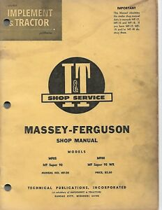 massey ferguson gc2310 tlb manual