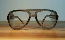 Vtg NOS New Deadstock Safety Glasses Goggles Aviator Motorcycle Engineer Osha