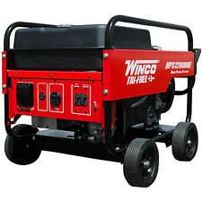 Winco HPS12000HE - 10,800 Watt Tri-Fuel Generator w/ Electric Start Honda Engine