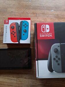 (SEE DESCRIPTION) Banned Nintendo HAC-001 32GB Switch Console - Black