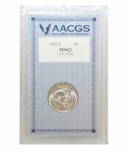 American-Coin-Treasure-1952-Washington-Caver-Commemorative-Half-Dollar