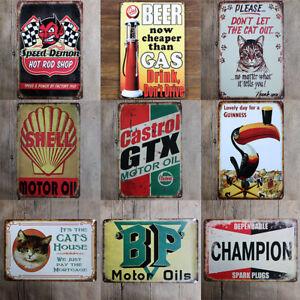 Tin-Metal-Sign-Plaque-Bar-Pub-Vintage-Retro-Wall-Decor-Poster-Home-Club-Tavern