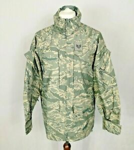 US Air Force Goretex Parka Waterproof Barrier Coat APEC Camouflage Jacket USAF