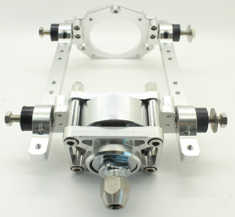 Toy Parts CNC Aluminum Engine Eount w  Clutch for RC Marine Engine 26 29 30CC