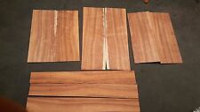 AA curly Hawaiian koa back side set luthier guitar building tonewood sides wood