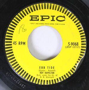 Rock 45 Roy Hamilton - Ebb Tide / Beward On Epic | eBay