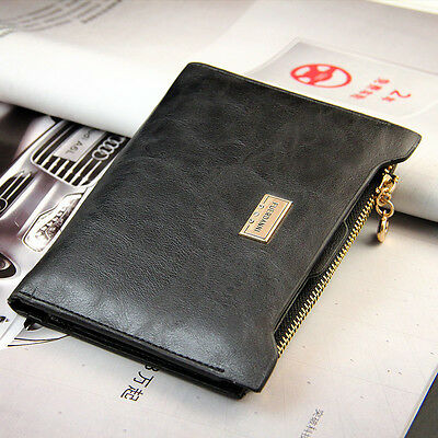 Women Purse Clutch Wallet Zip Checkbook Removable Credit Name Card Slots Holder