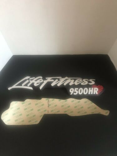 Life Fitness 9500hr Decals