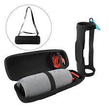 Tragetasche + Schultergurt + Silikon Sling Case Cover für JBL Charge 3 TH695