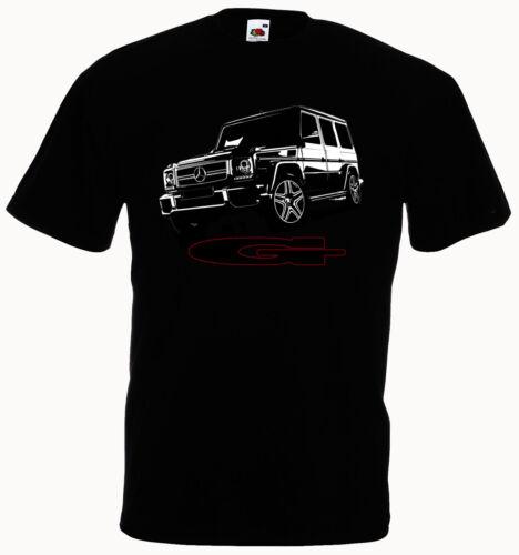T-Shirt Auto Geländewagen G Klasse SUV 4x4 off road Car Power