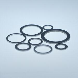 210-x-Alu-Dichtungen-KFZ-Dichtring-Sortiment-Ol-Aluminiumringe-Aluscheiben