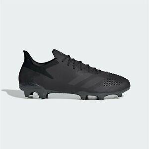 Adidas-Predator-20-2-FG-Chaussures-de-football-Homme-Gents-Terre-Ferme-Lacets-fixe