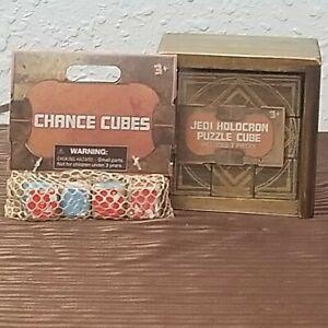 Disney Parks Star Wars Galaxy/'s Edge Jedi Holocron Wooden Puzzle Cube