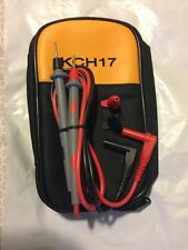 KCH17 Soft Case15B 17B 18B 115 116 117 175 177 179 w/ Fluke leads 71 10A PROBES