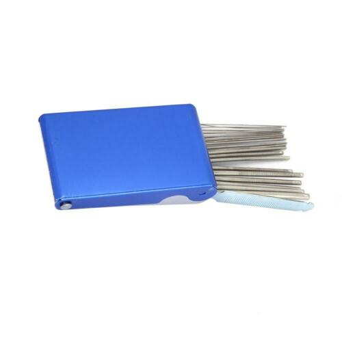 Gas Nozzle Cleaners Needle file set Jet cleaner Tip Cleaner Mig Tip Cleaner