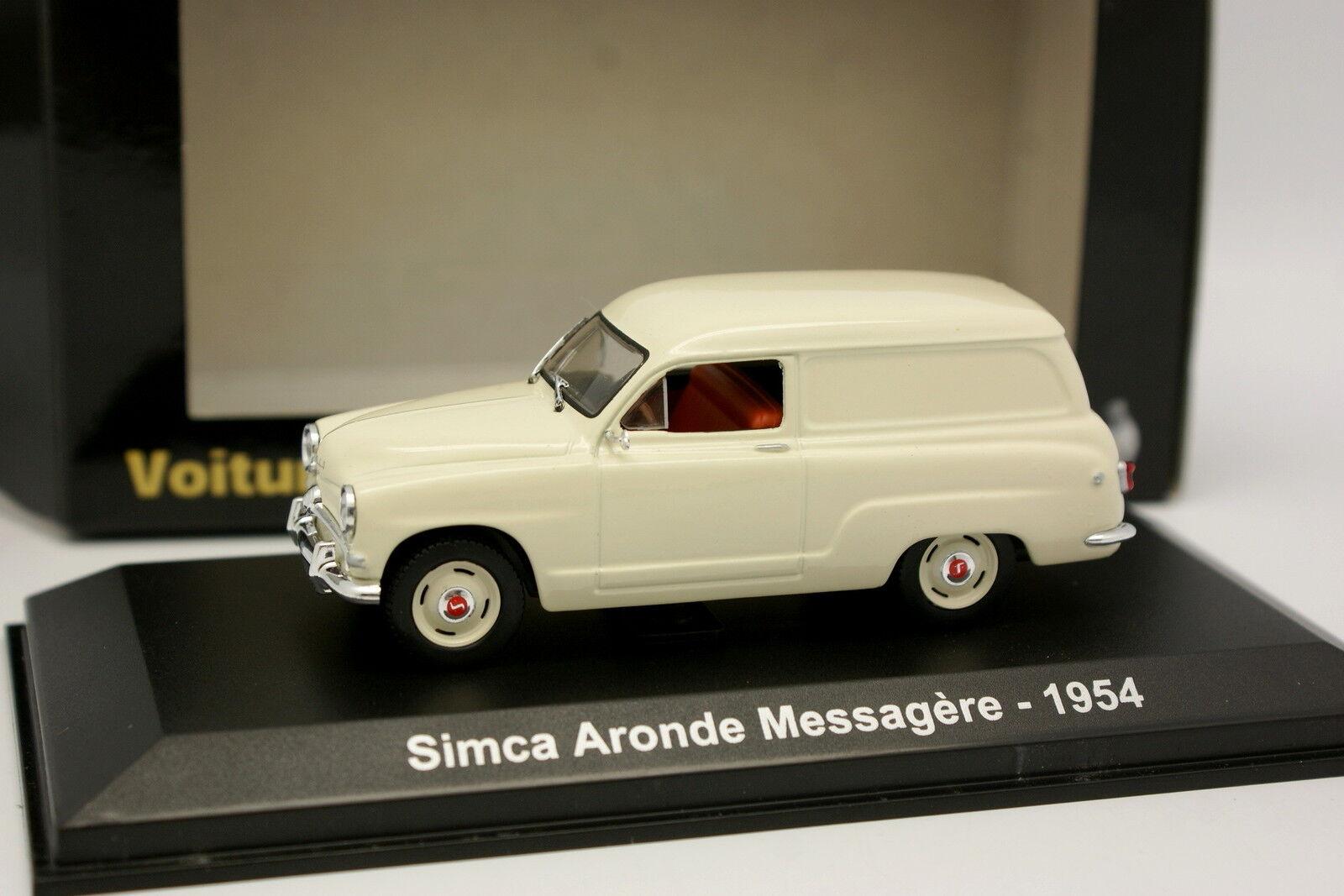 Norev 1 43 - Simca Aronde Messagere 1954 blancohe blancohe blancohe 3a805c