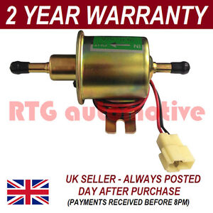 Diesel Water And Bio-Fuel Electric 12V Petrol Fuel Injector Pump Kit