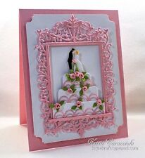 Impression Obsession ORNATE RECTANGLE FRAME DIE DIE274-YY New