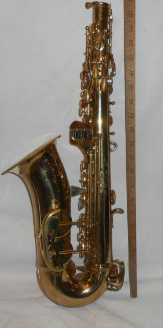 Alto Horns Used Conn Alto Saxophone Former Student N97034 No Neck/mouthpiece Parts/restore