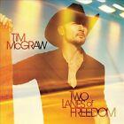 Two Lanes of Freedom by Tim McGraw (CD, Feb-2013, Big Machine Records)