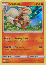 x1 Arcanine - 22/149 - Holo Rare Pokemon Sun & Moon Base Set M/NM