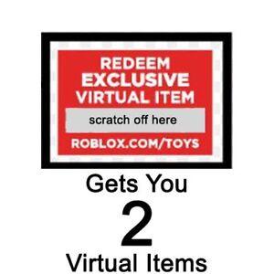 Roblox Redeem Card Indonesia Roblox Redeem 2 Virtual Items Online Code 643690338611 Ebay