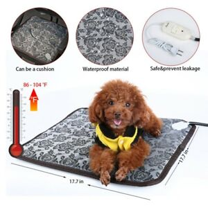 Pet-Heated-Warmer-Bed-Waterproof-Pad-Puppy-Dog-Bed-Cat-Mat-Electric-Heater-Mat