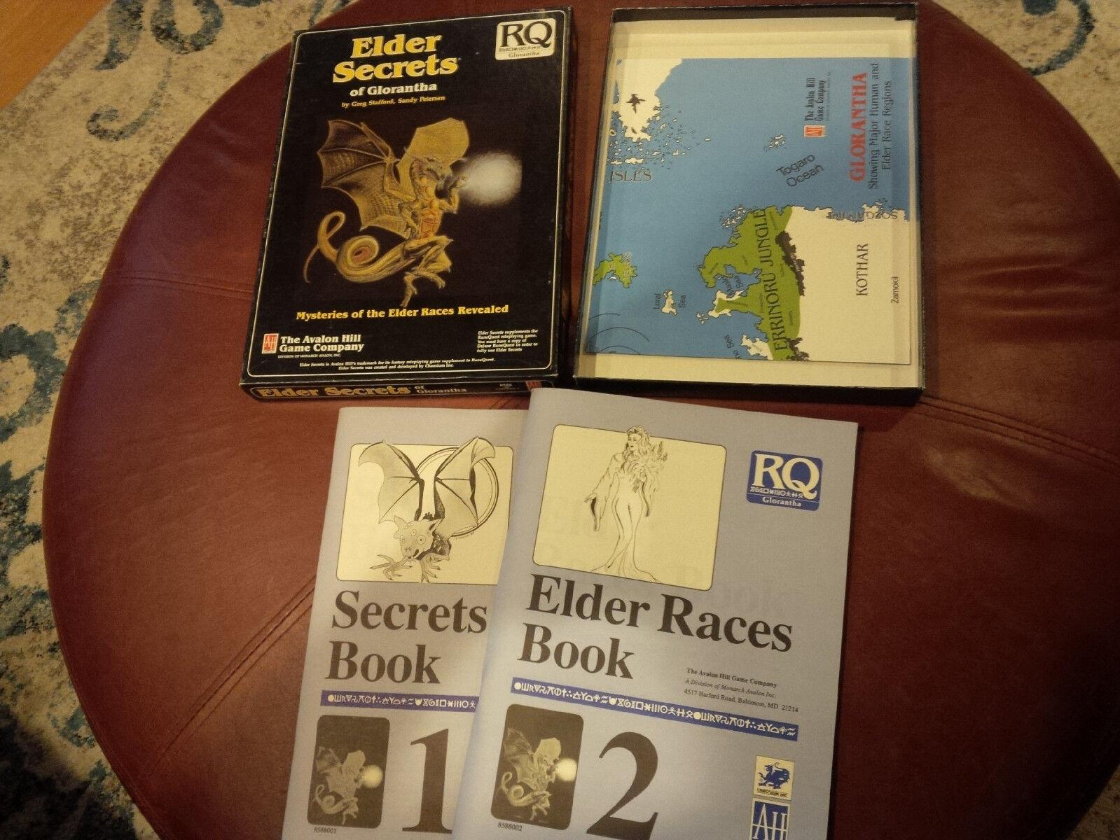 Elder Secrets of Glorantha Glorantha Glorantha runequest rpg box set avalon hill 7ea588