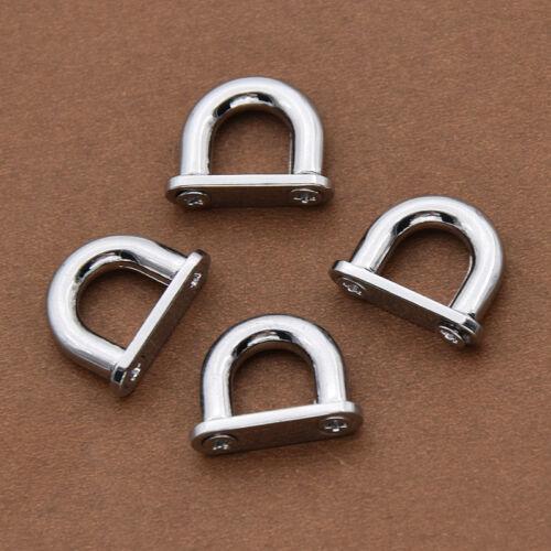 4 Pcs Bag Hide Hood Clasp DIY D Ring Hardware Replacement Craft Supplies