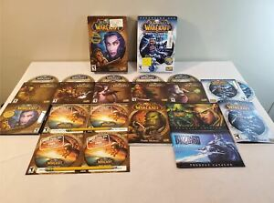 World-of-Warcraft-Original-amp-Lich-King-Expansion-Box-PC-Game-CD-ROM-Complete
