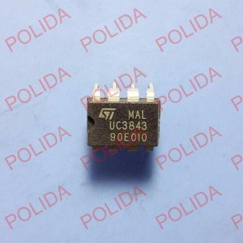 5PCS PWM CONTROLLER IC ST DIP-8 UC3843 UC3843N