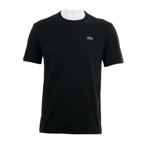 Lacoste Mens Plain T-Shirt Black