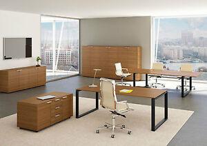Design Arbeitszimmer schreibtisch loopy melamin design arbeitszimmer managerschreibtisch
