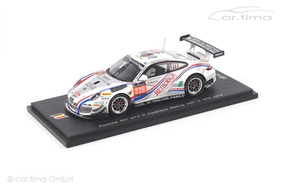 Porsche 911 (997 II) gt3 R - 24h spa 2014-Bordet Lemeret al azhari - 1 of