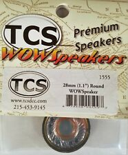 "Train Control Systems WOW Speaker 20mm 9.79/"" Round Speaker 1554"