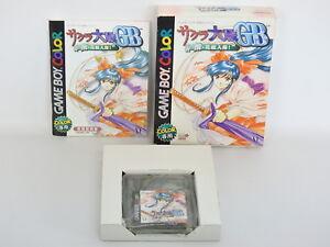 SAKURA-WARS-GB-GEKI-HANAGUMI-ref-C-Game-Boy-Color-Nintendo-Japan-Game-gb